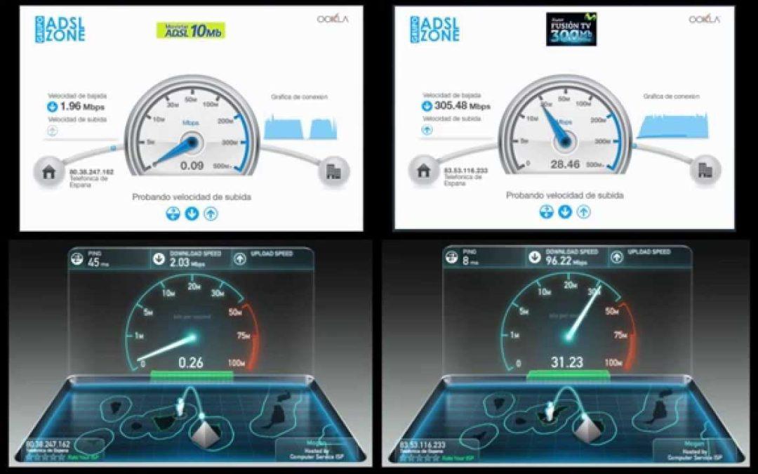 ¿Conoces las diferencias que hay entre el ADSL y la Fibra Óptica?
