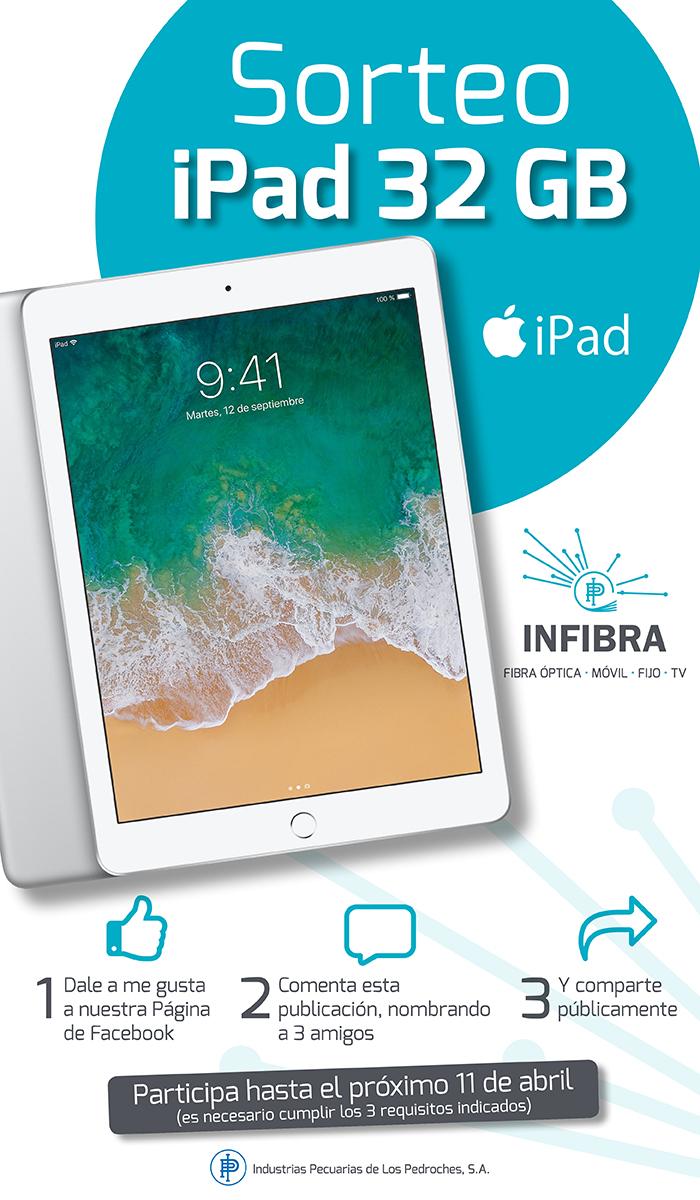 Sorteo iPad Infibra Pozoblanco