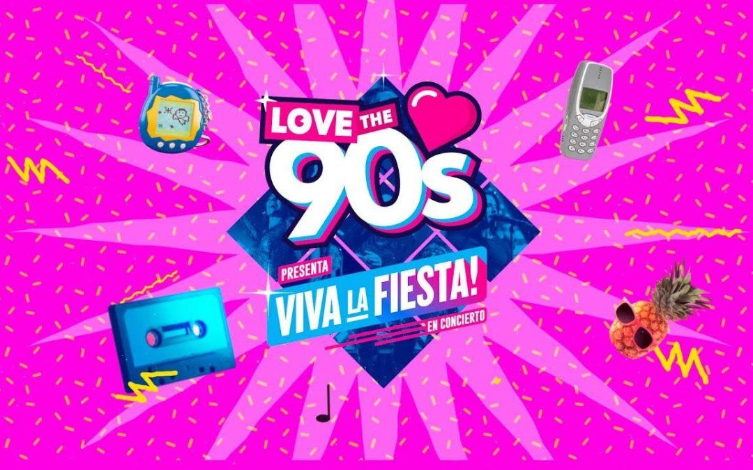 SORTEO 2 entradas para la Fiesta Love 90´s en el Slow Music Pozoblanco 2019