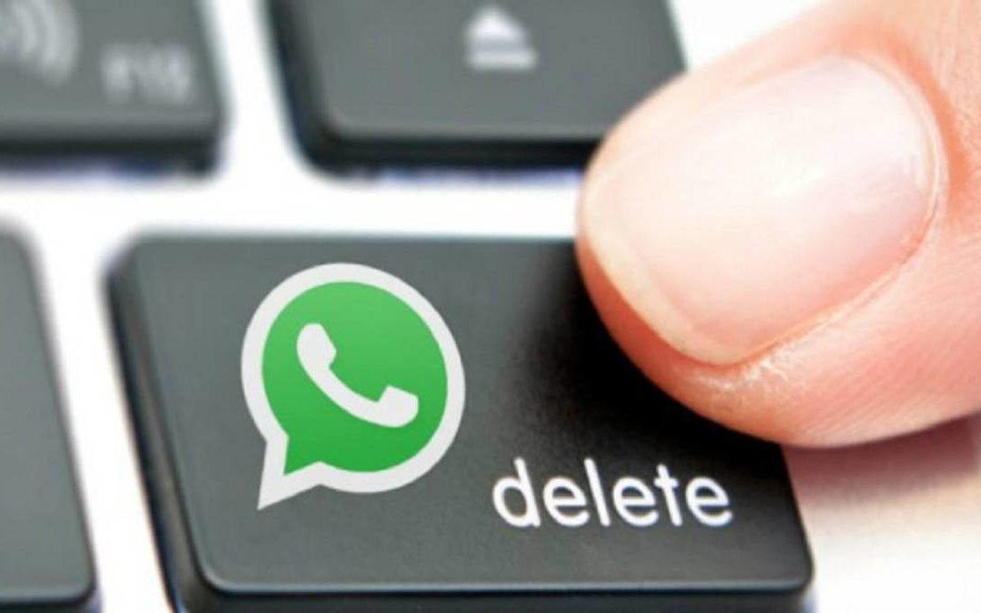 Todas las opciones y maneras de borrar mensajes en WhatsApp