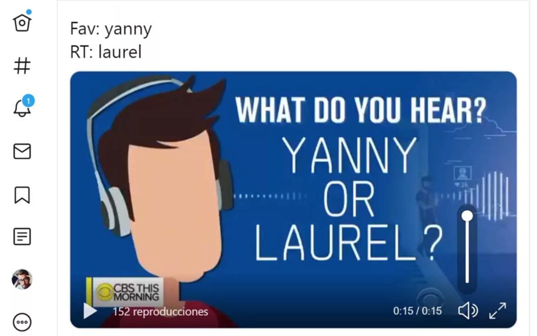 ¿Escuchas YANNY o LAUREL? El nuevo reto que está revolucionando Internet